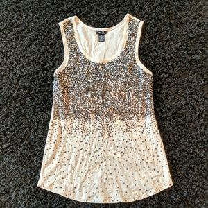 Rue21 Tops - Sequined Tank Top